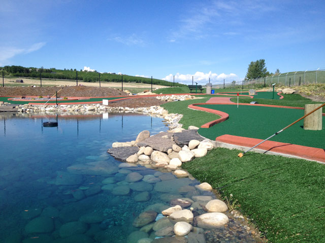 Putting Green at Oasis Golf