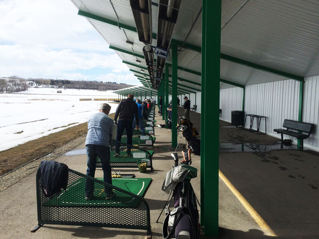 Driving Range at Oasis Green Golf Centre